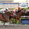 Moment of Delight wins the 2017 White Pearl Stakes<br /> Coglianese Photos/Leslie Martin