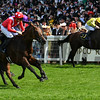 Le Brivido and Pierre-Charles Boudot win the Jersey Stakes, Royal Ascot, Ascot, UK 6/21/17, photo by Mathea Kelley