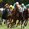 Estrechada wins the 2017 Fasig-Tipton Waya Stakes<br /> Coglianese Photos/Robert Mauhar