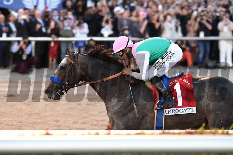 Arrogate wins the 2017 Pegasus World Cup<br /> Coglianese Photos/Lauren King