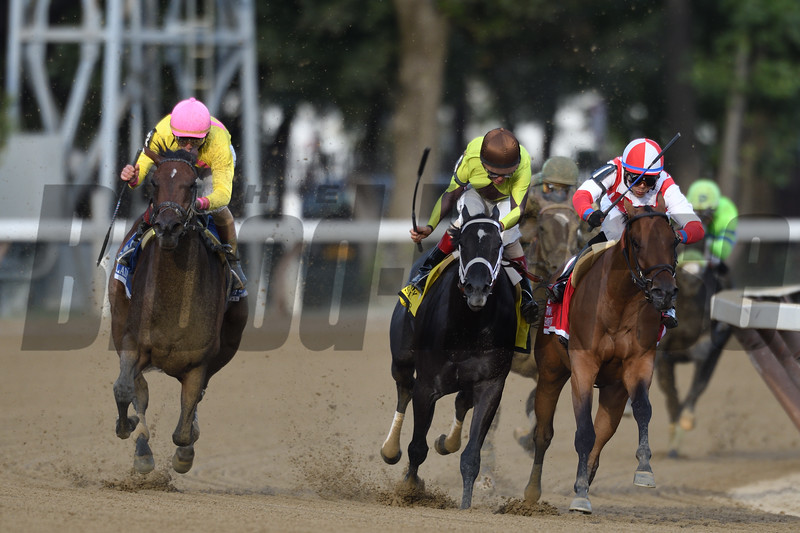 Lady Ivanka wins the 2017 Spinaway<br /> Coglianese Photos/Gale Saer