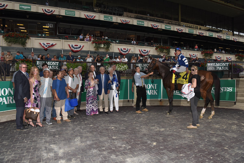 Oscar Performance wins the 2017 Belmont Derby Invitational<br /> Coglianese Photos
