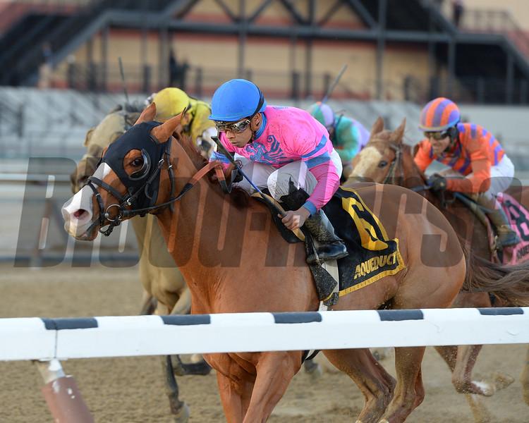 Hot City Girl wins the 2017 Broadway Stakes<br /> Coglianese Photos/Joe Labozzetta