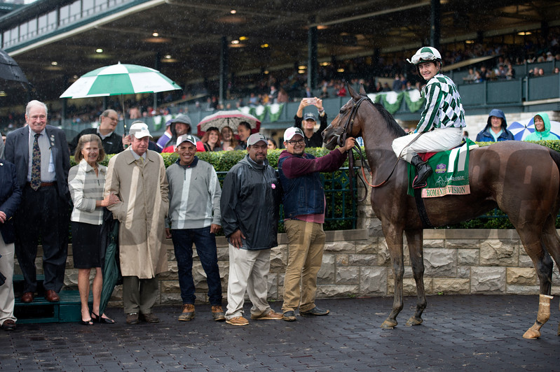 Romantic Vision with Brian Hernandez Jr. wins the Juddmonte Spinster (G1)