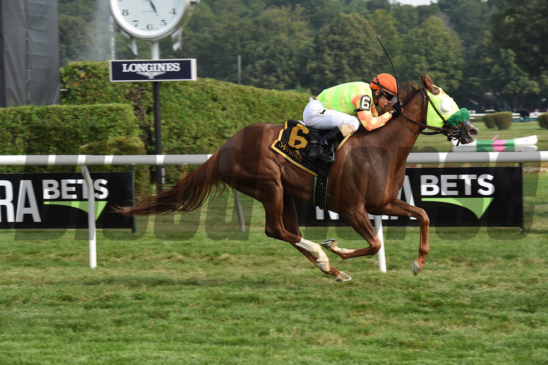Lover's Key wins the 2017 New York Stallion Series Stakes<br /> Coglianese Photos