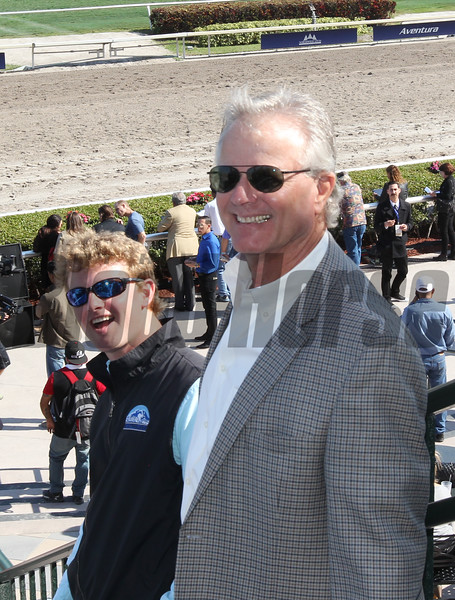 Bill and Riley Mott, 2017 Pegasus World Cup