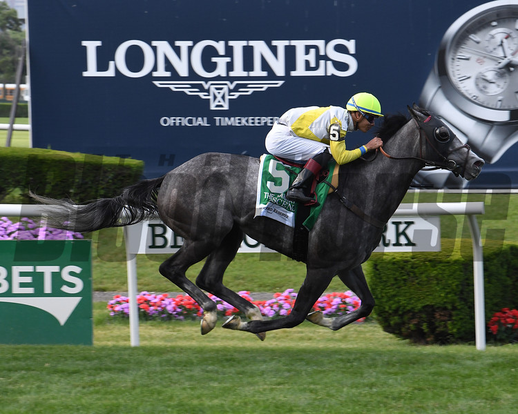 Ascend wins the 2017 Woodford Reserve Manhattan Stakes<br /> Coglianese Photos/Viola Jasko