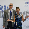 Dean and Patti Reeves, Co-owners of Breaking Luck, 2017 Pegasus World Cup