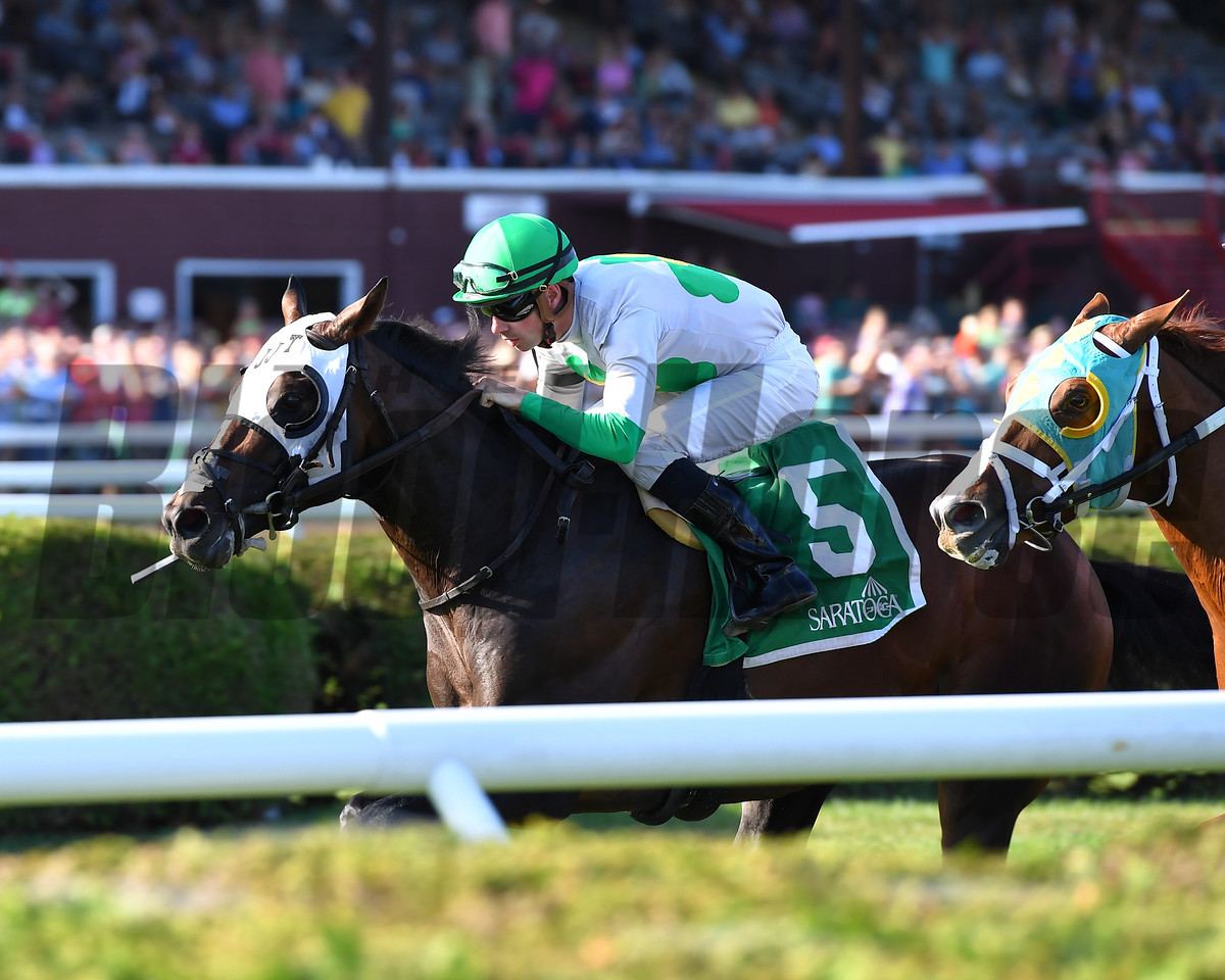Bowling Green Stakes (G2T) $250,000, Hunter O'Riley, Florent Geroux, James J. Toner, Saratoga, July 29 2017