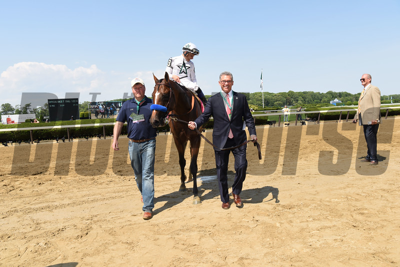 American Anthem wins the 2017 Woody Stephens<br /> Coglianese Photos