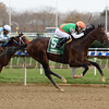 Sea Foam wins the 2017 Notebook Stakes
