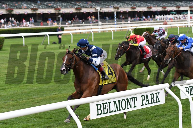 Oscar Performance wins the 2017 Belmont Derby Invitational<br /> Coglianese Photos/Annette Jasko