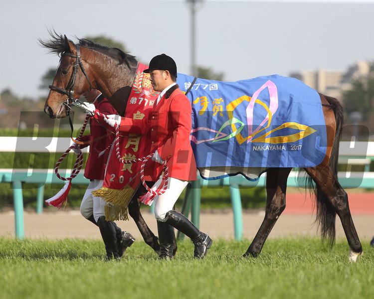 Al Ain wins the 2017 Satsuki Sho<br /> Masakazu Takahashi