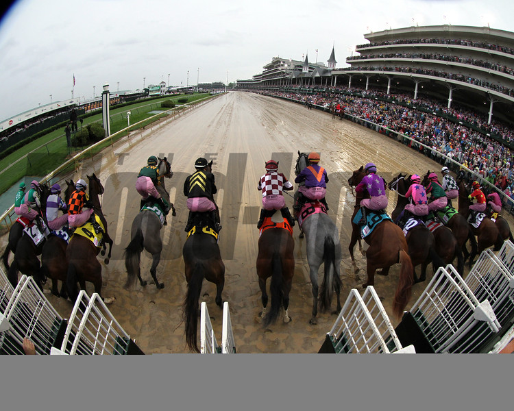 Kentucky Oaks Starting Gate Remote Chad B. Harmon