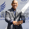 Tony Dorsett wearing his Super Bowl and Heisman rings, 2017 Pegasus World Cup