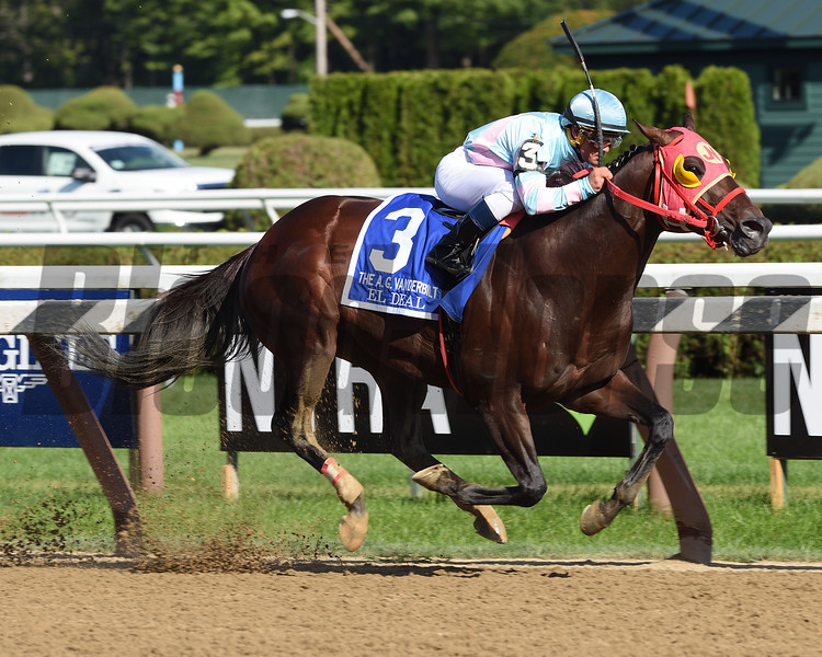 El Deal wins the 2017 Vanderbilt<br /> Coglianese Photos