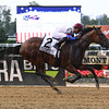 Unchained Melody wins the 2017 Mother Goose<br /> Coglianese Photos/Viola Jasko