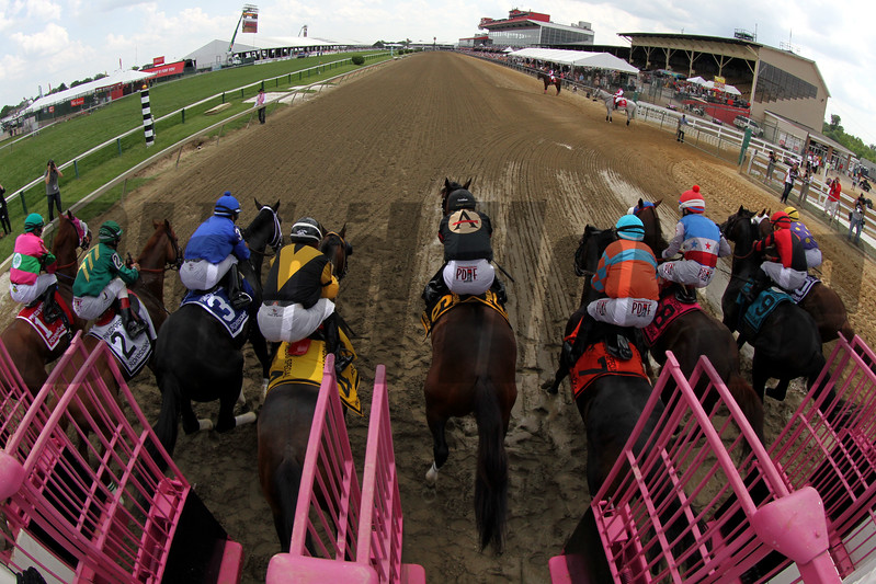 Pimlico Special Starting Gate Remote Chad B. Harmon