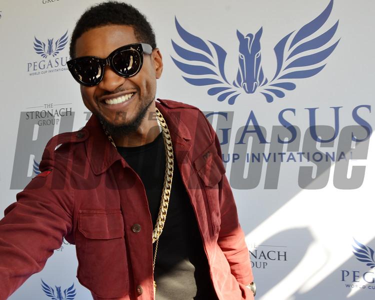 Usher, 2017 Pegasus World Cup