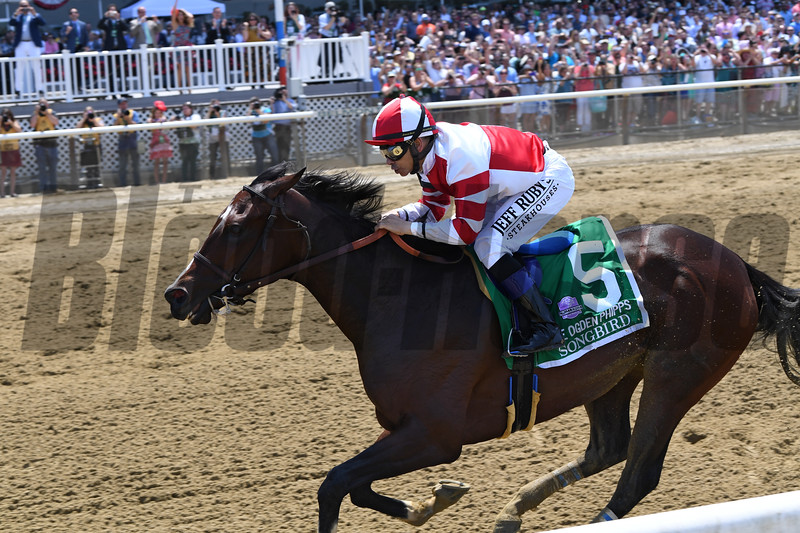 Songbird wins the 2017 Ogden Phipps Stakes<br /> Coglianese Photos