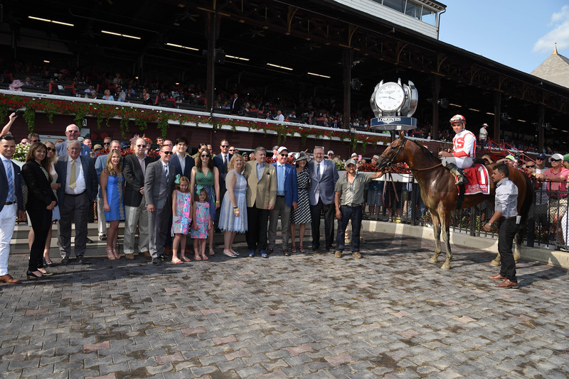 Practical Joke wins the 2017 H. Allen Jerkens<br /> Coglianese Photos