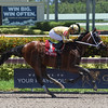 Diamond Oops wins the 2017 Kiss a Native Stakes<br /> Coglianese Photos/Leslie Martin
