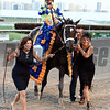 Always Dreaming wins the 2017 Florida Derby<br /> Dave Harmon Photo