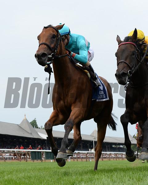 Lady Eli wins the 2017 Diana Stakes<br /> Coglianese Photos