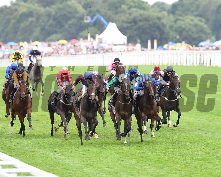 The TIn Man and Tom Queally win the Group 1 DIamond Jubilee Stakes; Royal Ascot; Asoct; UK; 6/24/17; photo by Mathea Kelley