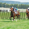 Signs Of Blessing  and jockey S.Pasquier winning the Group 111 Prix Meautry Barriere Group 111 race.