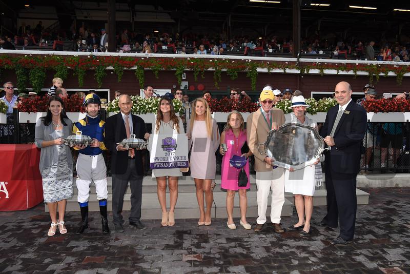 Sadler's Joy wins the 2017 Sword Dancer Stakes<br /> Coglianese Photos