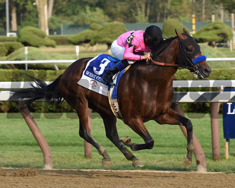 West Coast wins the 2017 Travers Stakes<br /> Coglianese Photos