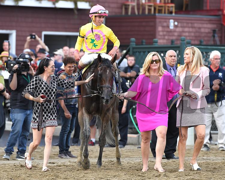 Lady Ivanka wins the 2017 Spinaway<br /> Coglianese Photos/Joe Labozzetta
