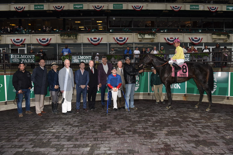 Offering Plan wins $125,000 the Kingston Stakes at Belmont Park on May 29 2017
