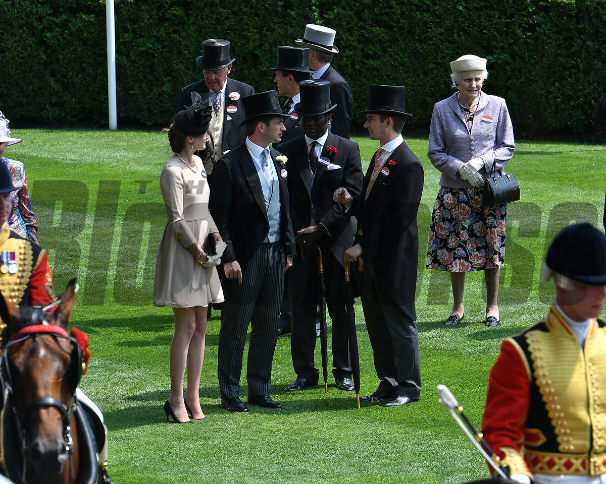 Royal Ascot, Ascot, UK 6/21/17, photo by Mathea Kelley