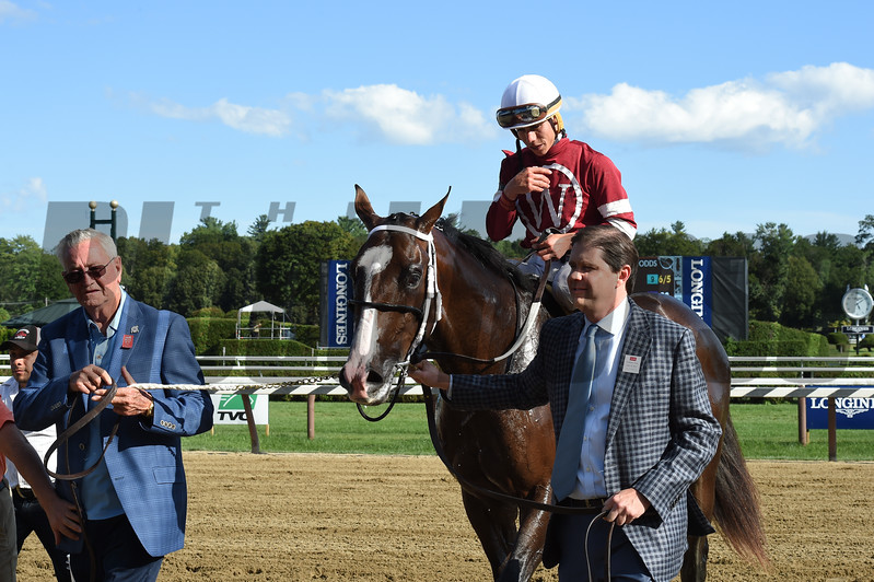 Copper Bullet wins the 2017 Saratoga Special Stakes (G2)