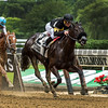 I Still Miss You with jockey Javier Castellano aboard easily wins the 106th running of The Astoria Thursday June 8, 2017 at Belmont Park in Elmont, N.Y.  Photo by Skip Dickstein