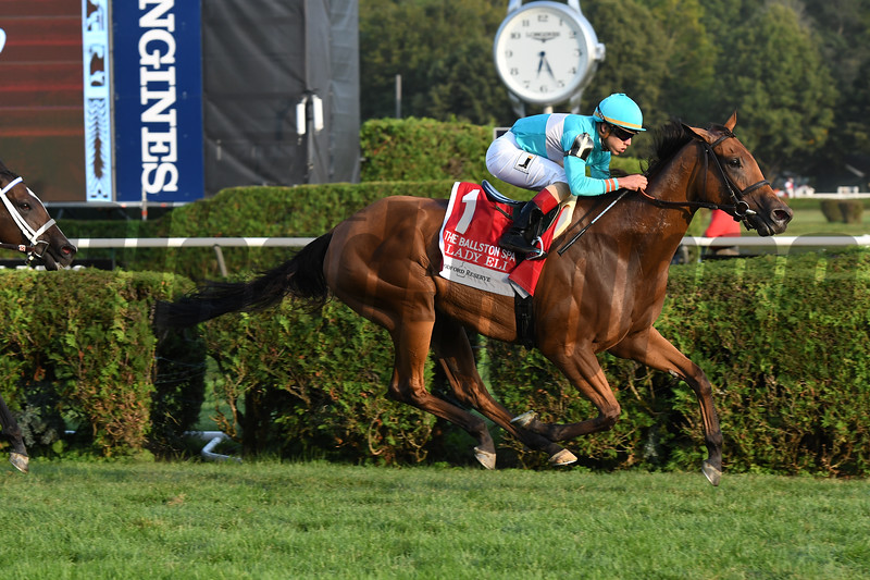 Lady Eli wins the 2017 Ballston Spa<br /> Coglianese Photos/Annette Jasko