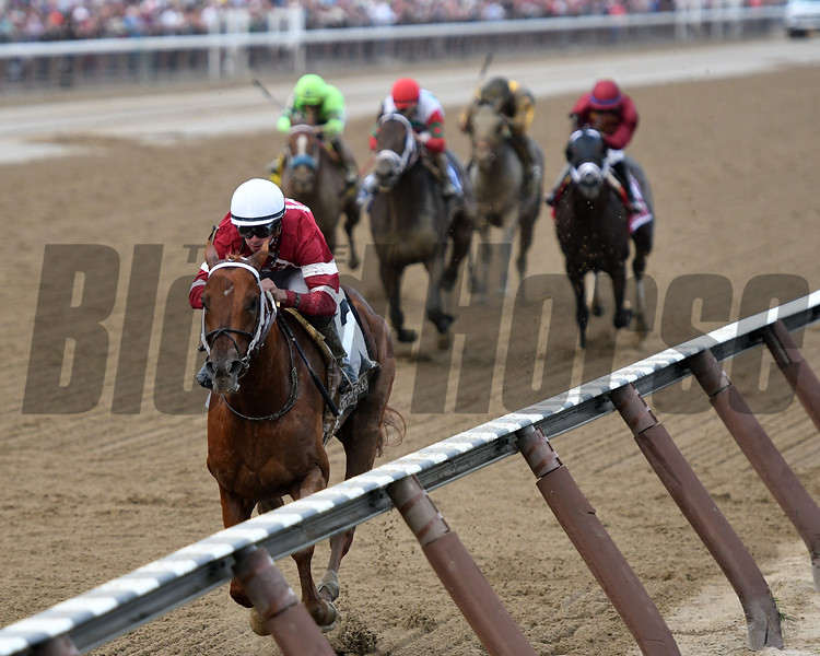 Gun Runner wins the 2017 Woodward<br /> Coglianese Photos/Annette Jasko