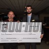 With a Belmont Stakes Challenge Handicapping seat and two seats to the National Handicapping Championship in Las Vegas up for grabs, David Harrison of Webster, New York quickly established himself at the top of the leaderboard in Saturday's Wood Memorial Handicapping Challenge tournament, cashing in on a $20 win wager on Brimstone at odds of 4-1 and a $2 exacta and $10 trifecta in Aqueduct's second race with, and never relinquished his lead to earn the victory in the tournament. A regular NYRA handicapping contest player, Harrison increased his $300 live money contest bankroll to a final total of $3,370.20. Harrison, who also picked up $5,000 in prize money for first place, credited his handicapping strategy, focusing on speed and class for earning him the tournament victory.