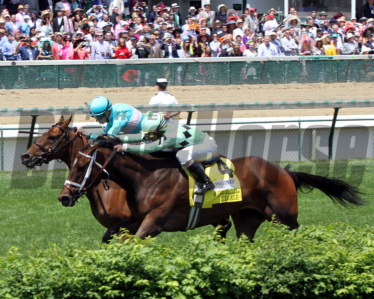 Roca Rojo Florent Geroux Churchill Distaff Turf Mile Chad B. Harmon