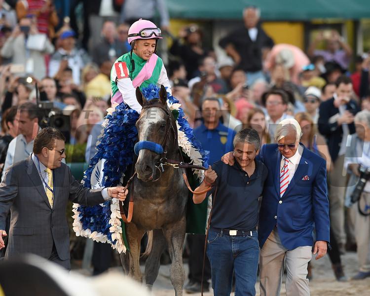 Arrogate wins the 2017 Pegasus World Cup<br /> Coglianese Photos/Kenny Martin