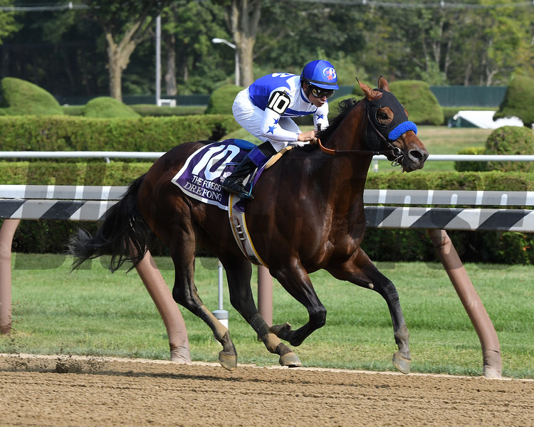 Drefong wins the 2017 Forego<br /> Coglianese Photos/Lauren King