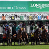Start of the Churchill Distaff Turf Mile<br /> Dave Harmon Photo