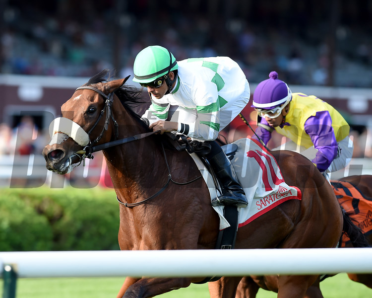 Defiant Honor wins the 2017 Riskaverse<br /> Coglianese Photos/Chelsea Durand