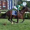 Raging Bull wins the Saranac Stakes at Saratoga Saturday, September 1, 2018. Photo: Coglianese Photos