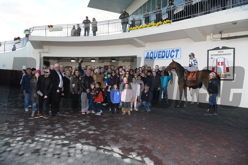 Espresso Shot wins the 2018 East View Stakes at Aqueduct<br /> Coglianese Photos