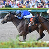 Classic Fit wins the 2018 Hut Hut Stakes at Gulfstream Park.<br /> Coglianese Photos/Lauren King