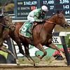 Highway Star wins the 2018 Iroquois Stakes at Belmont Park<br /> Coglianese Photos