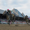 Sippican Harbor wins the Spinaway at the Saratoga Race Course Saturday Sept. 1, 2018  in Saratoga Springs, N.Y.  Photo: Skip Dickstein